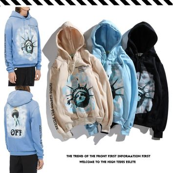 Hats Pullover Winter Star Couple Hoodies [1016607801380]