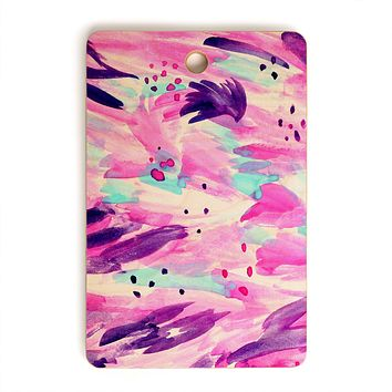 Allyson Johnson 80s glam Cutting Board Rectangle