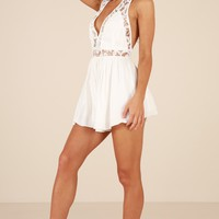 Dream Baby Romper in White Produced By SHOWPO