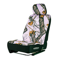 Browning Mossy Oak Break-Up Pink Camo Neoprene Lowback Car Seat Cover