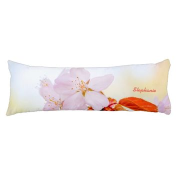 Sakura - Japanese cherry blossom Body Pillow