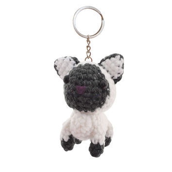 Cat Handmade Crochet Stuffed Keychains Keyrings VKC