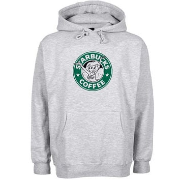 starbucks coffee Hoodie Sweatshirt Sweater Shirt Gray and beauty variant color for Unisex size
