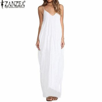 Maxi Dresses 3 Colors Summer Sexy Beach Sundress
