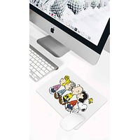 Snoopy And The Peanuts Walking Mouse Pad