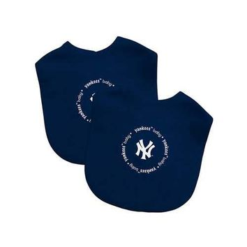 New York Yankees MLB Infant Bibs (2 Pack)