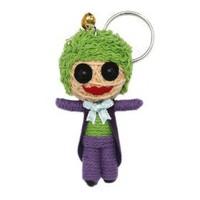 The Joker Voodoo String Doll Keychain Ornament