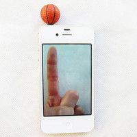 Basketball Pro - Classic Baller Iphone Plug/Dust Plug - Ready to Ship Cellphone Accessories