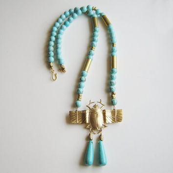 Cleopatra Collection. Winged Scarab.