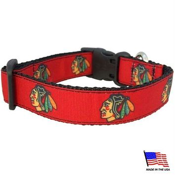 Chicago Blackhawks Premium Pet Collar