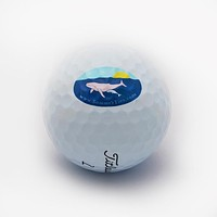 Humpback Whale - Titleist Pro V1 Golf Ball Sleeve (3 balls)