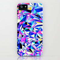 Pink & Blue No. 1 iPhone & iPod Case by House of Jennifer