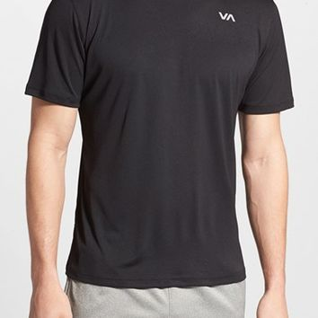 Men's RVCA 'Virus Tech' Active Crewneck T-Shirt