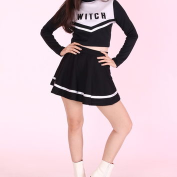 Glitters For Dinner — Made To Order - Team Witch Cheerleading Set <3