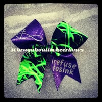 I refuse to sink cheer bow.