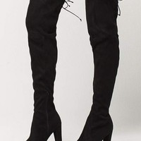 WILD DIVA Over The Knee Heeled Womens Boots | Boots + Booties