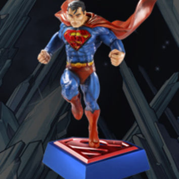 Superman, Man of Steel - Superman Statue New