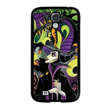 MALEFICENT'S DISNEY ART Samsung Galaxy S4 Case