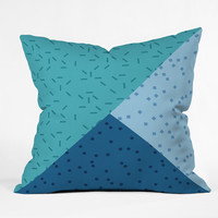 Mareike Boehmer Geometry Blocking 3 Throw Pillow
