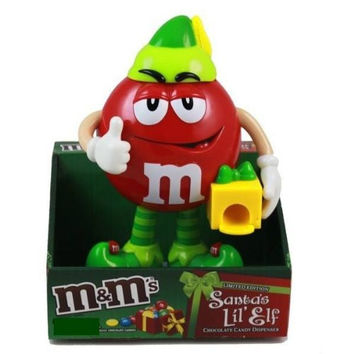 M&M's Limited Edition Santa's Lil' Elf Candy Dispenser