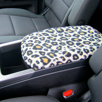 Center Console Cover CHEETAH or ZEBRA PRINT for Honda Accord 2008 to 2011 (Sample Picture) Armrest Lid Cover