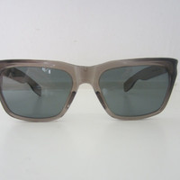 50s Translucent Grey Sunglasses by Willson // Vintage Plastic Sunglasses