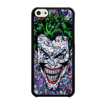 THE JOKER COLLAGE iPhone 5C Case