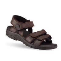 Men's Gravity Defyer Hugh Casual Sandals {Brown} | TB8106DB-M