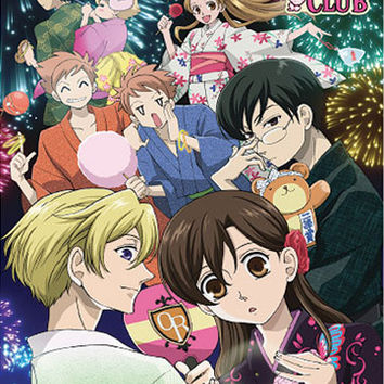 Ouran High School Host Club Firework Wallscroll