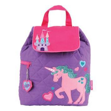 "Quilted ""Unicorn"" Backpack"