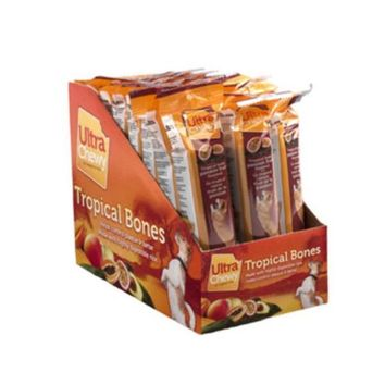 Passion Fruit Chewy Dog Bone - 24 packs