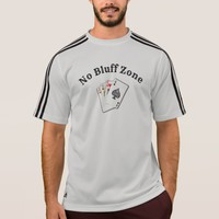 No Bluff Zone -- Athletic T T-Shirt