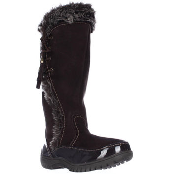 Sporto Side Winder Waterproof Cold Weather Boots - Chocolate