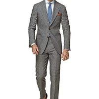 Suit Grey Stripe Washington P3845 | Suitsupply Online Store