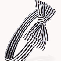 Striped Bow Headwrap