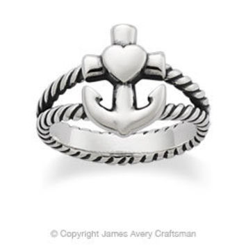 Faith, Hope & Love Twisted Ring from James Avery