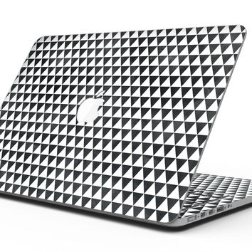Black and White Watercolor Triangle Pattern - MacBook Pro with Retina Display Full-Coverage Skin Kit