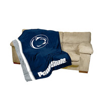 Penn State Nittany Lions NCAA UltraSoft Fleece Throw Blanket (84in x 54in)