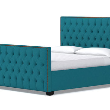 Huntley Tufted Upholstered Bed CHOICE OF FABRICS