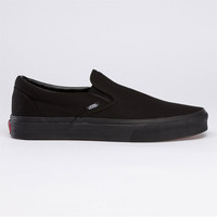 Vans Classic Slip-On Mens Shoes Black/Black  In Sizes