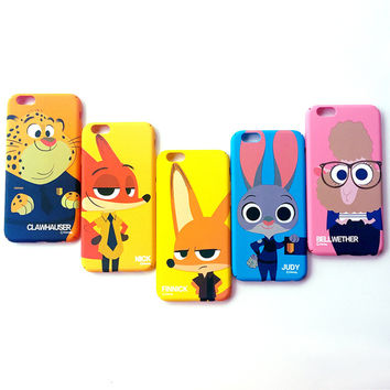 Stylish Hot Deal Iphone 6/6s Cute On Sale Animal Apple Matte Iphone Cartoons Phone Case [8153007623]