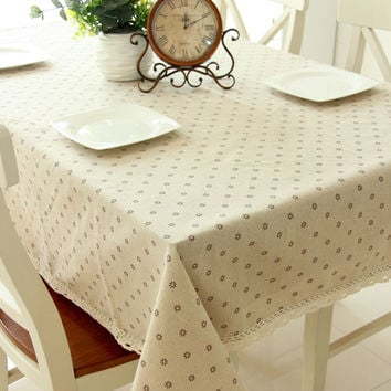 Home Decor Tablecloths [6283659526]
