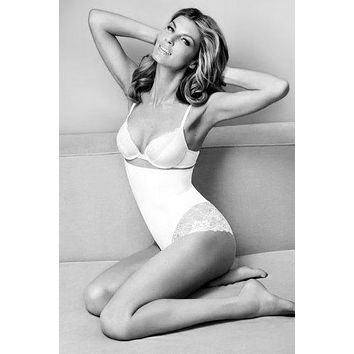 """Angela Lindvall Poster Black and White Poster 16""""x24"""""""