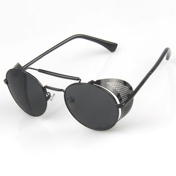 Stylish Metal Hollow Out Sunglasses [6592750595]
