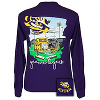 Louisaiana LSU Tigers Tailgates & Touchdowns Party Long Sleeve T-Shirt