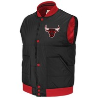 Mitchell & Ness Chicago Bulls Vintage Free Agent Vest - Black/Red