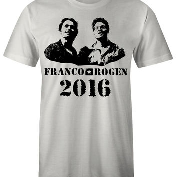 James Franco T Shirt - Franco Rogen 2016