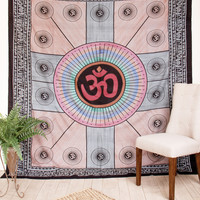 Om Indian Tapestry