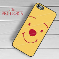 Winni The Pooh Cute Face - zzFzz for iPhone 6S case, iPhone 5s case, iPhone 6 case, iPhone 4S, Samsung S6 Edge