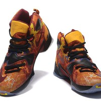 Nike Zoom LeBron James 13  (Colorful Yellow) 25K  Basketball Shoes